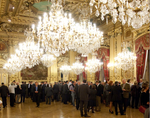 Sumptuous venues hosted events in Lyon and Salzburg