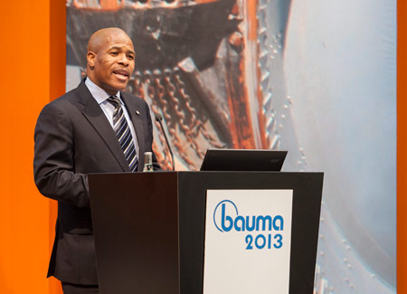 The South African Consul invites all to bauma Africa in September