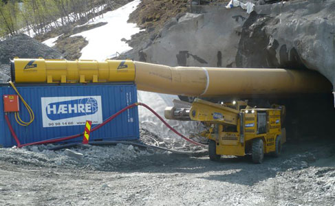 GIA H&auml;ggloader operates at zero CO<sub>2</sub> levels