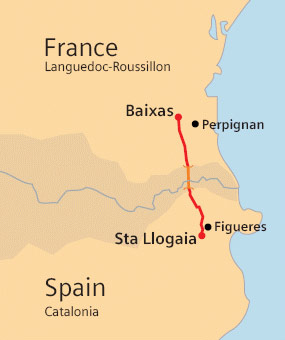 8.2km tunnel forms centrepiece of France-Spain cable link