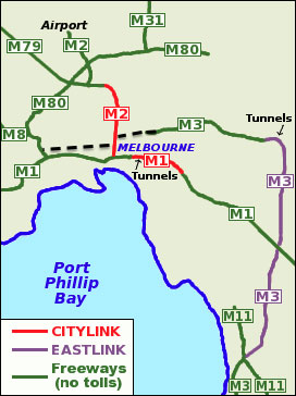 Fig 2. Full East West link