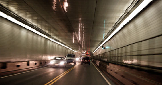 Current Midtown Tunnel crossing is bi-directional