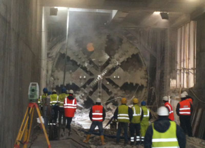 Double breakthrough for Seli EPBMs on Milan Metro Line 5