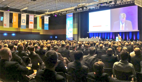 Nearly 1,600 delegates attended the 2013 STUVA event