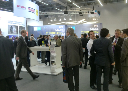 Busy exhibition hall featuring 146 trade stands
