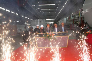 Factory acceptance of the new EPBM for Delhi Metro