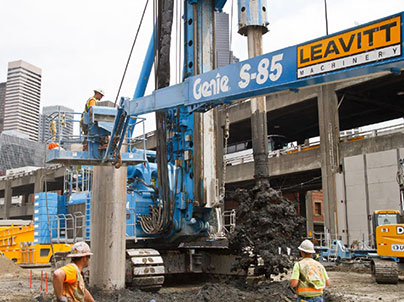 Recovery shaft excavation delays
