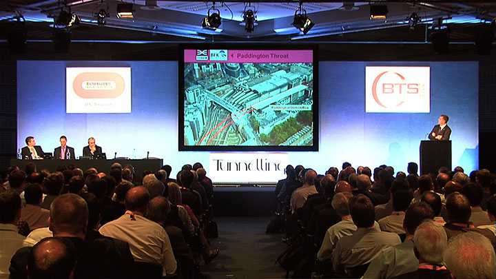 Standing room only at Crossrail presentation