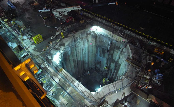 Dispute likely over cost of excavating TBM recovery shaft