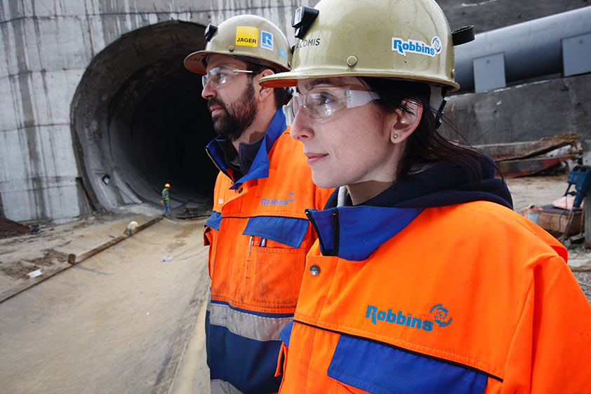 Comis at a jobsite in Central Turkey, working for Robbins