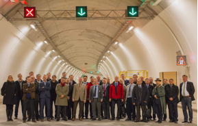 Participants of the 3rd European Forum of Road Tunnel Safety Officers in Luxembourg