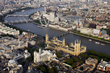London and the historic River Thames