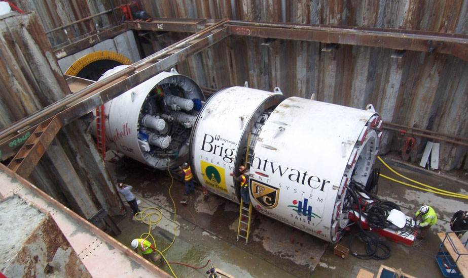 Lovat TBM for the Brightwater Wastewater Conveyance Tunnel