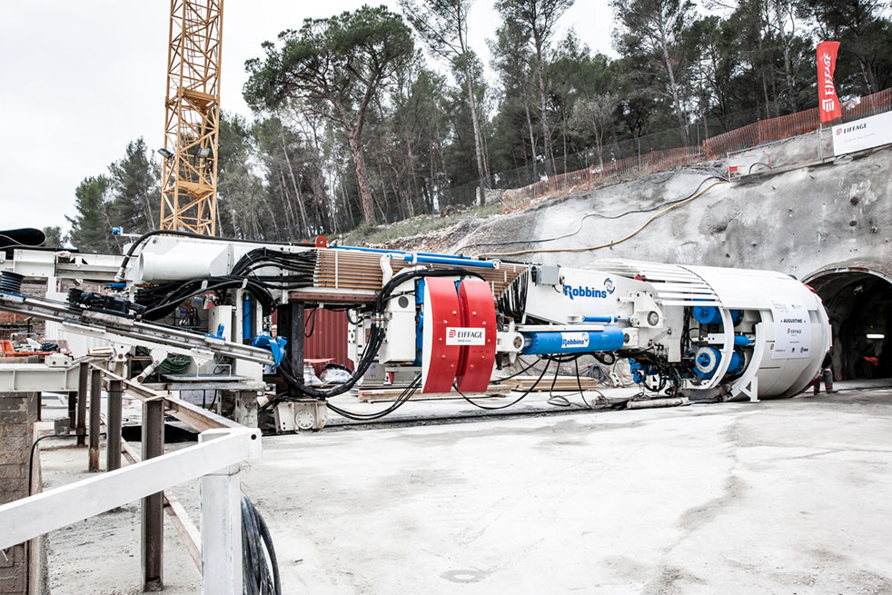 Robbins TBM ready for its eighth tunnel project