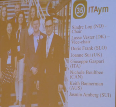 Executive committee of the ITAym Group