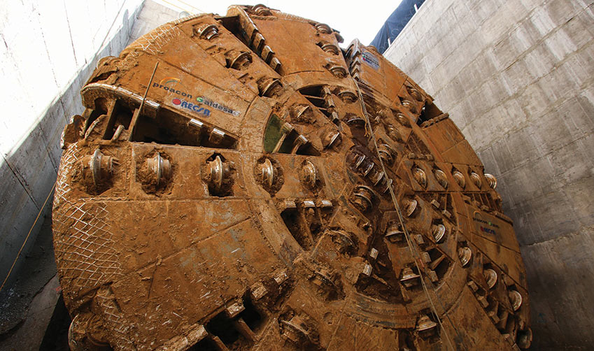 Robbins XRE TBM breakthrough