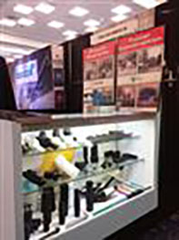 Optimas stand at the recent RETC conference