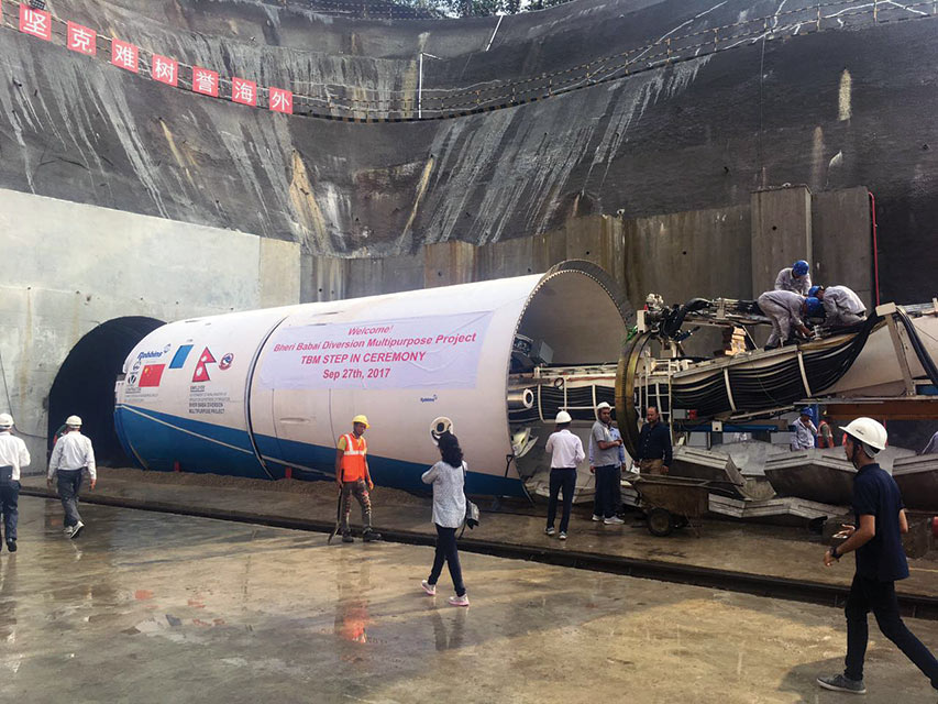 For mountainous tunnel drives, such as in the Himalayas for the first TBM project in Nepal, unknown geology can be overcome with careful TBM design that accounts for the various risks