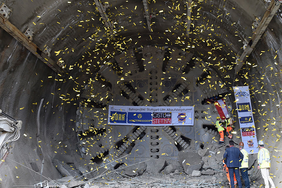 Breakthrough ends Bossler Tunnel drives in Germany