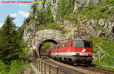 Scenic Semmering rail route limits speeds to 50km/hr
