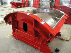 Pic6-Mould for production of the trapezoidal segmental lining