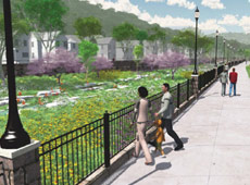 Cincinnati has shelved deep level CSO tunnel in favour of daylighting a natural creek