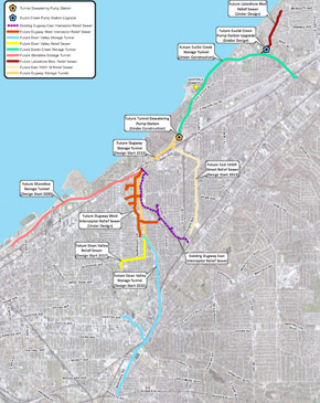 33.5km of tunnels for Project Clean Lake in Cleveland