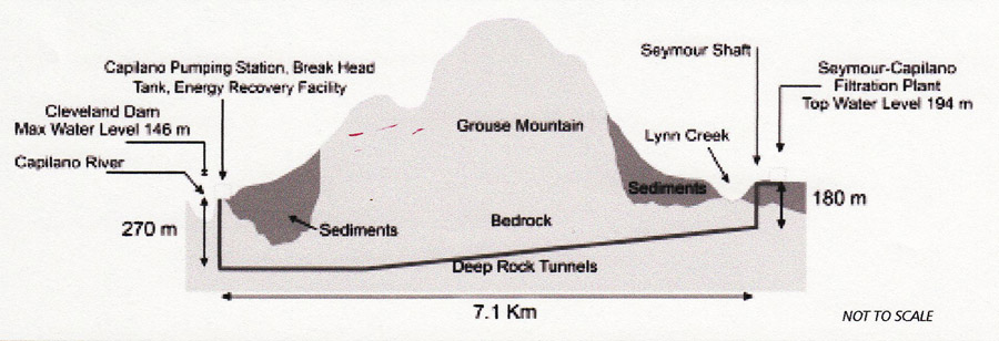 p3-Geological section of the 7.1km alignment