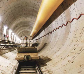 48km of tunnels for Singapore's DTSS